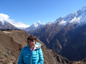 Trekking in the Everest region of Nepal